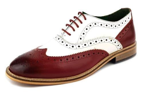Frank James - Zeno Bordo / White Brogue Shoes